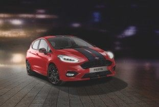New Ford Fiesta ST-Line Red Edition and Black Edition Int...