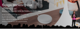 Invitados a Google Marketing Live 2019